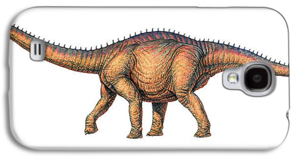 Deceptive Galaxy S4 Cases - Apatosaurus Dinosaur Galaxy S4 Case by Joe Tucciarone