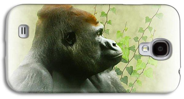 Ape Digital Art Galaxy S4 Cases - Ape Galaxy S4 Case by Sharon Lisa Clarke