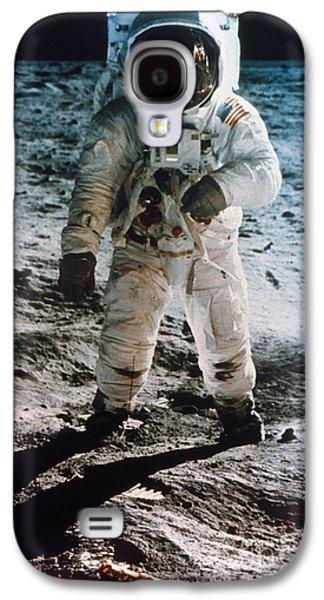 Granger - Galaxy S4 Cases - Apollo 11: Buzz Aldrin Galaxy S4 Case by Granger