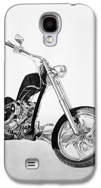 Drawing Galaxy S4 Cases - Apollo Chopper Galaxy S4 Case by Tim Dangaran