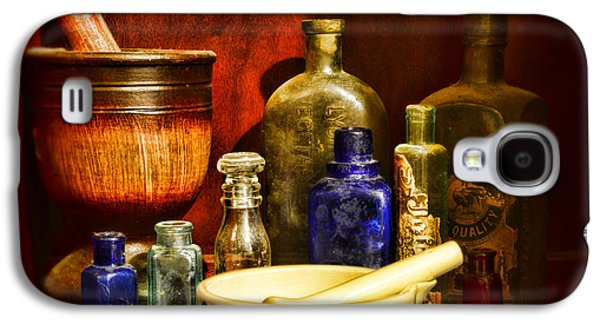 Old Grinders Galaxy S4 Cases - Apothecary - Tools of the Pharmacist Galaxy S4 Case by Paul Ward