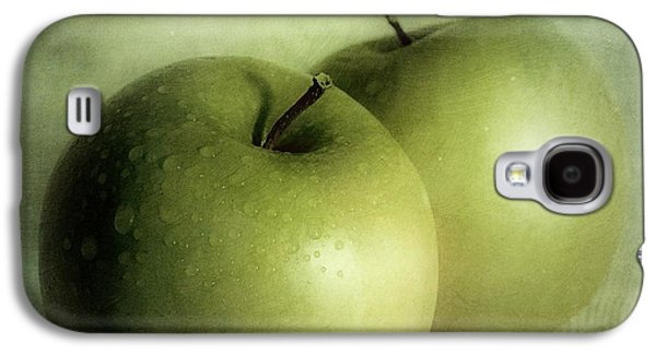 Best Sellers -  - Green Galaxy S4 Cases - Apple Painting Galaxy S4 Case by Priska Wettstein