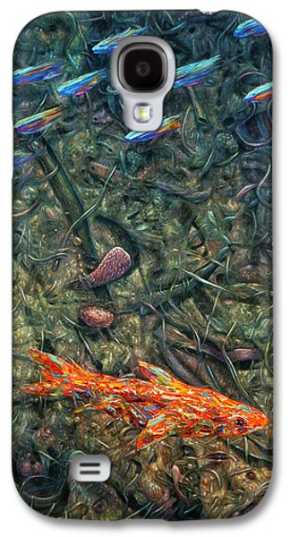Abstraction Galaxy S4 Cases - Aquarium 2 Galaxy S4 Case by James W Johnson
