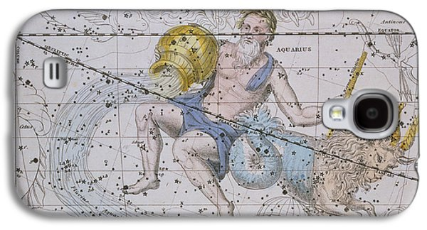 Aquarius And Capricorn Galaxy S4 Case by A Jamieson