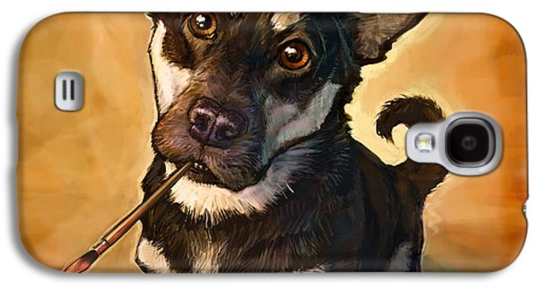 Pet Digital Art Galaxy S4 Cases - Arfist Galaxy S4 Case by Sean ODaniels