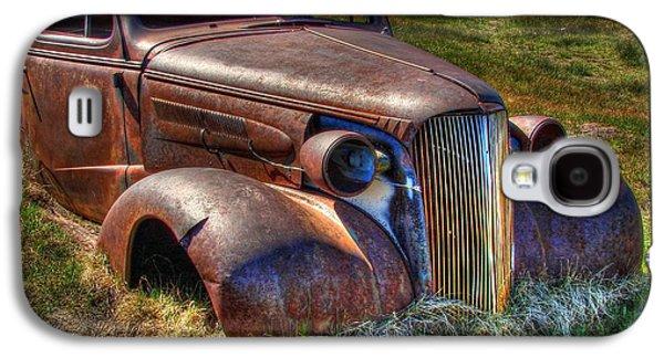 Rusted Cars Galaxy S4 Cases - Arrested Decay Galaxy S4 Case by Scott McGuire
