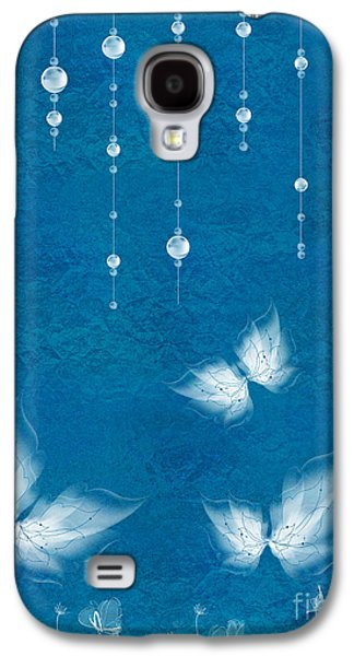Insects Digital Galaxy S4 Cases - Art en Blanc - s11dt01 Galaxy S4 Case by Variance Collections