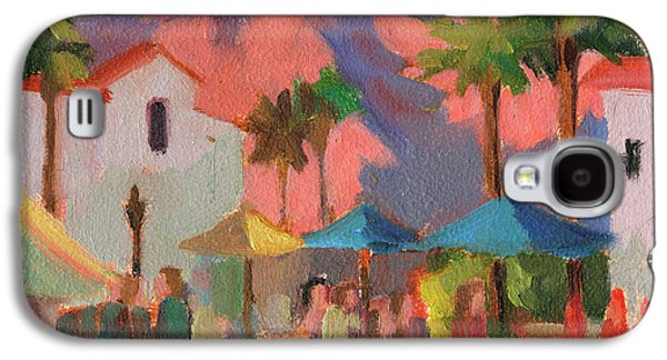 Art Under The Umbrellas Galaxy S4 Case by Diane McClary
