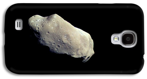 Planetoid Galaxy S4 Cases - Asteroid 243 Ida And Its Moon Dactyl Galaxy S4 Case by Stocktrek Images