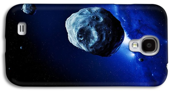 Planetoid Galaxy S4 Cases - Asteroids Galaxy S4 Case by Detlev Van Ravenswaay