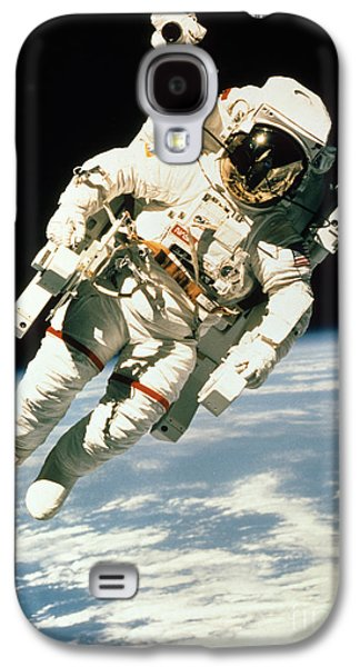 Astronaut In Space Galaxy S4 Case by NASA / Science Source