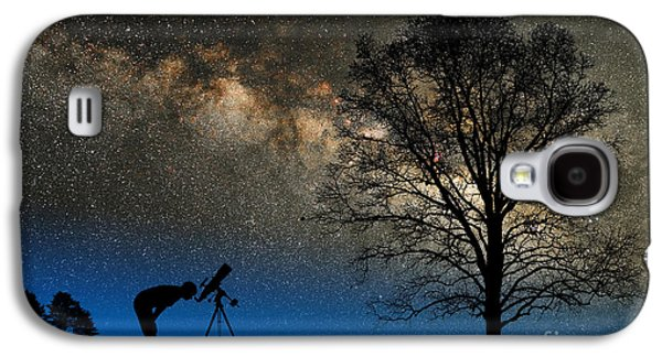 Contemplative Photographs Galaxy S4 Cases - Astronomy Galaxy S4 Case by Larry Landolfi and Photo Researchers