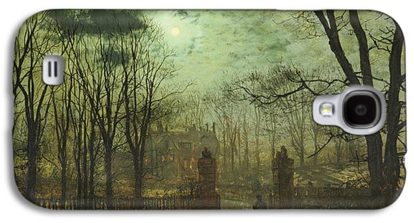 At The Park Gate Galaxy S4 Case by John Atkinson Grimshaw