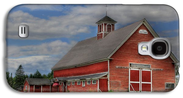 Old Maine Barns Galaxy S4 Cases - Atco Farms - 1920 Galaxy S4 Case by Lori Deiter