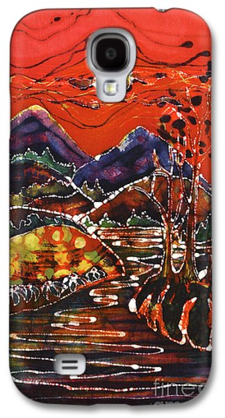 Autumn Landscape Tapestries - Textiles Galaxy S4 Cases - Autumn Adirondack Sunset Galaxy S4 Case by Carol Law Conklin