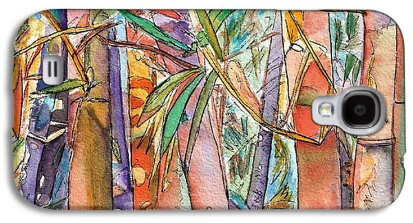 Autumn Foliage Galaxy S4 Cases - Autumn Bamboo Galaxy S4 Case by Marionette Taboniar