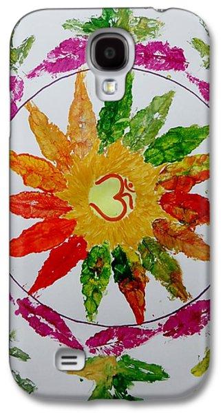 Inner Self Galaxy S4 Cases - Autumn Chakra Galaxy S4 Case by Sonali Gangane