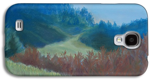 Blue Pastels Galaxy S4 Cases - Autumn Landscape of the Mind Galaxy S4 Case by Jenny Armitage