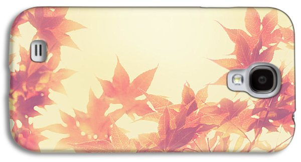 Earth Tones Photographs Galaxy S4 Cases - Autumn Sky Galaxy S4 Case by Amy Tyler