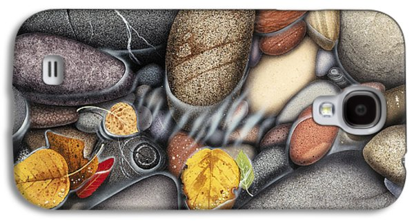 Oaks Galaxy S4 Cases - Autumn Stones Galaxy S4 Case by JQ Licensing
