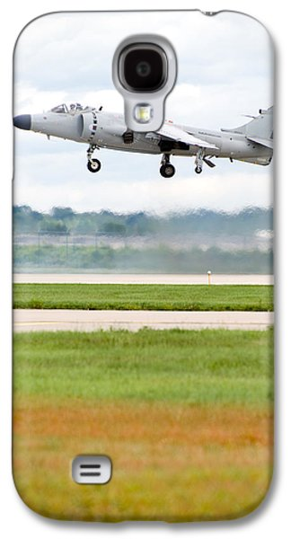 Airplane Photographs Galaxy S4 Cases - AV-8 Harrier Galaxy S4 Case by Sebastian Musial