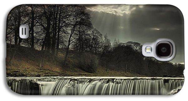 Design Pics - Galaxy S4 Cases - Aysgarth Falls Yorkshire England Galaxy S4 Case by John Short