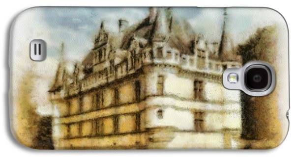 Ancient Galaxy S4 Cases - Azay le Rideau Galaxy S4 Case by Mo T
