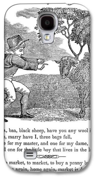 Munroe Galaxy S4 Cases - Baa, Baa, Black Sheep, 1833 Galaxy S4 Case by Granger