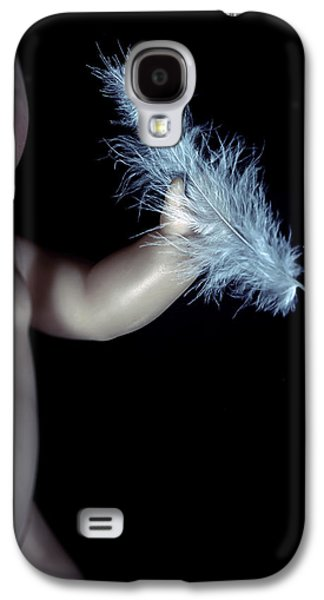 Doll Galaxy S4 Cases - Baby Doll With Feather Galaxy S4 Case by Joana Kruse
