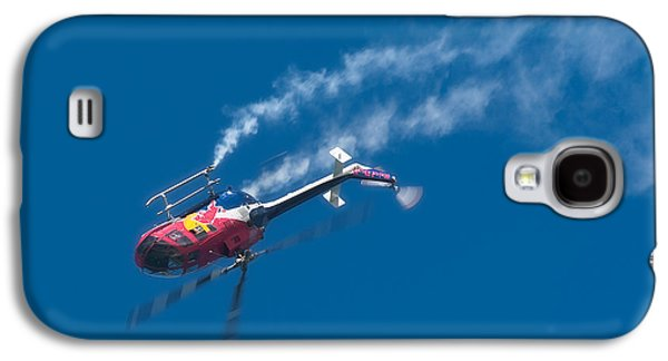 Helicopter Photographs Galaxy S4 Cases - Backflip Galaxy S4 Case by Sebastian Musial