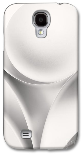 Ball Photographs Galaxy S4 Cases - Ball and Curves 01 Galaxy S4 Case by Nailia Schwarz