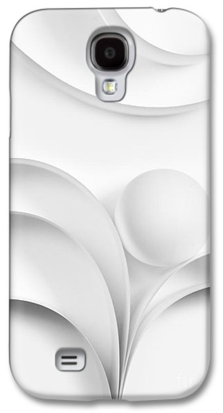Ball Photographs Galaxy S4 Cases - Ball and Curves 02 Galaxy S4 Case by Nailia Schwarz