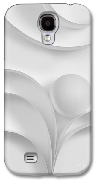 Ball Photographs Galaxy S4 Cases - Ball and Curves 03 Galaxy S4 Case by Nailia Schwarz