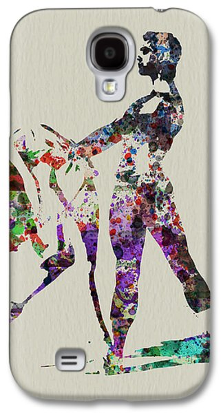 Ballerinas Galaxy S4 Cases - Ballet Dance Galaxy S4 Case by Naxart Studio