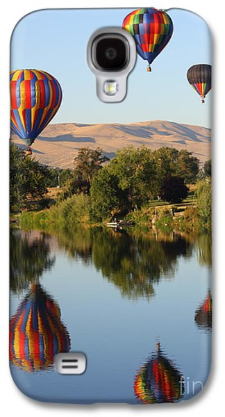 Yakima Valley Galaxy S4 Cases - Balloons over Horse Heaven Galaxy S4 Case by Carol Groenen