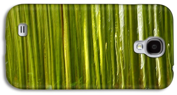 Abstract Movement Galaxy S4 Cases - Bamboo abstract Galaxy S4 Case by Gaspar Avila