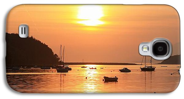 Boats In Reflecting Water Galaxy S4 Cases - Bantry Bay,co Cork,irelandsunset Over Galaxy S4 Case by Peter Zoeller