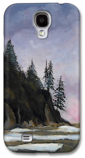 Maine Landscapes Paintings Galaxy S4 Cases - Bar Harbor Galaxy S4 Case by John Chehak