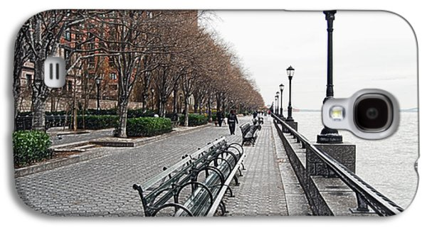 Manhatten Galaxy S4 Cases - Battery Park Galaxy S4 Case by Michael Peychich