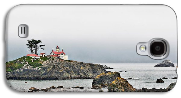 Coast Highway One Galaxy S4 Cases - Battery Point Lighthouse California Galaxy S4 Case by Christine Till