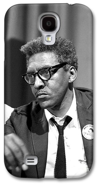 Press Conference Photographs Galaxy S4 Cases - Bayard Rustin (1912-1987) Galaxy S4 Case by Granger