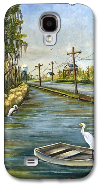 Wetlands Galaxy S4 Cases - Bayou Terre aux Boeufs Galaxy S4 Case by Elaine Hodges