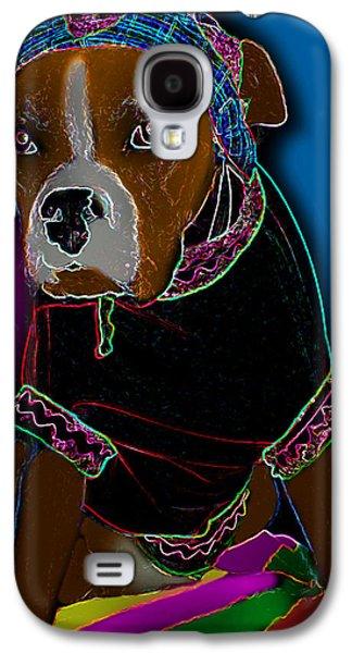 Boxer Digital Art Galaxy S4 Cases - Beach Bum Galaxy S4 Case by Tisha McGee