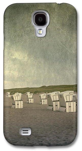 Beach Chair Galaxy S4 Cases - Beach Chairs Galaxy S4 Case by Joana Kruse