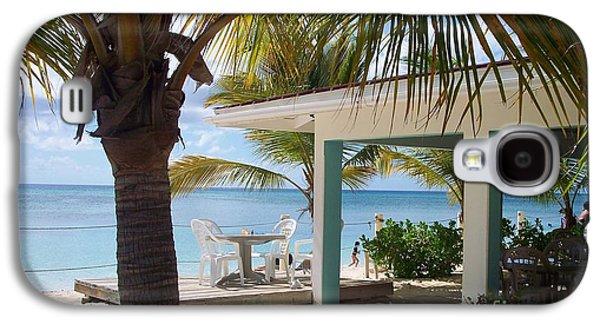Beaches Galaxy S4 Cases - Beach in Grand Turk Galaxy S4 Case by Debbi Granruth
