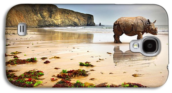 Recently Sold -  - Fantasy Photographs Galaxy S4 Cases - Beach Rhino Galaxy S4 Case by Carlos Caetano