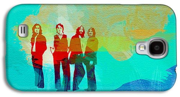 John Lennon Galaxy S4 Cases - Beatles Galaxy S4 Case by Naxart Studio