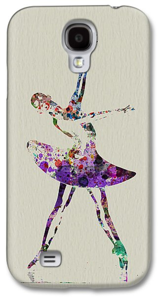 Ballerinas Galaxy S4 Cases - Beautiful Ballerina Galaxy S4 Case by Naxart Studio
