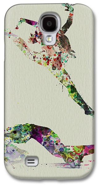 Ballerinas Galaxy S4 Cases - Beautiful Ballet Galaxy S4 Case by Naxart Studio