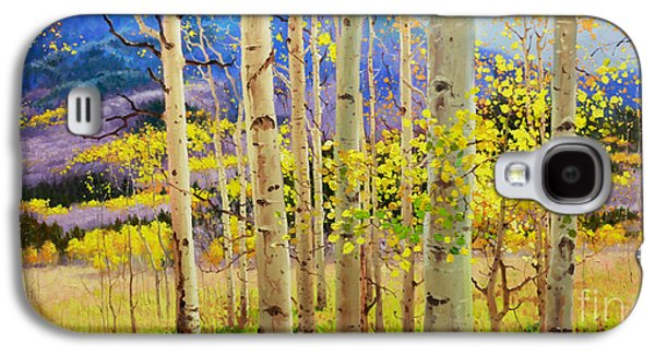Landscape Posters Galaxy S4 Cases - Beauty of Aspen Colorado Galaxy S4 Case by Gary Kim